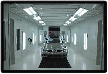 Gfs Spray Booths Paint Booths From Bci Equipment Specialists